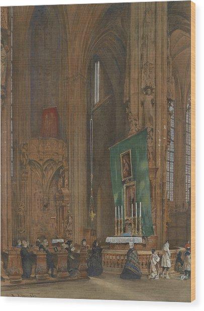 Interior Of St. Stephen's Church Wood Print