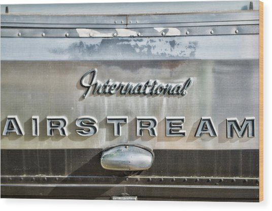 International Airstream Wood Print