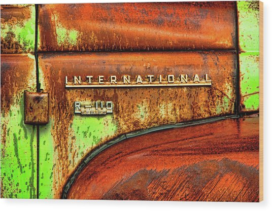 International Mcintosh  Horz Wood Print