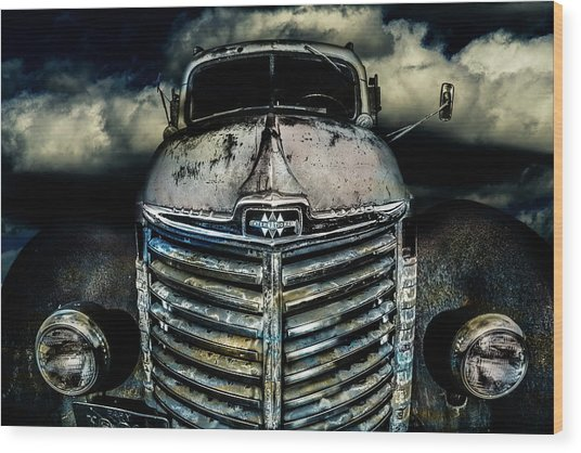 International Truck 7 Wood Print