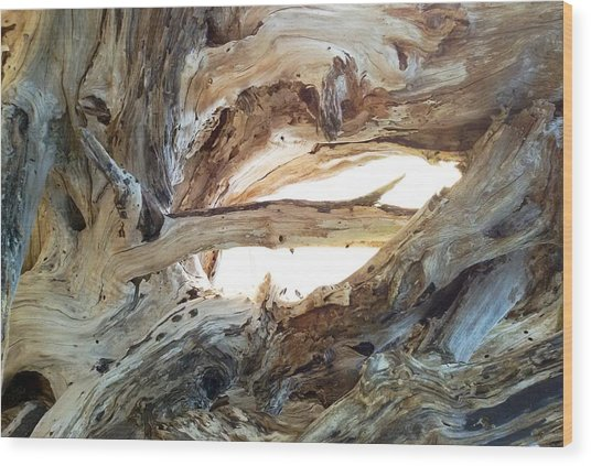 Intersection Wood Print