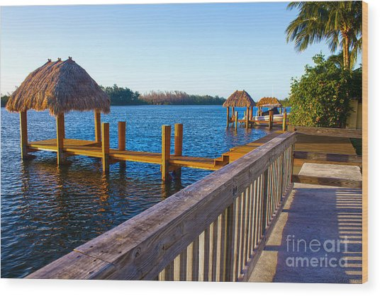 Intracoastal Series 12 Wood Print