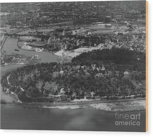 Inwood Hill Park Aerial, 1935 Wood Print
