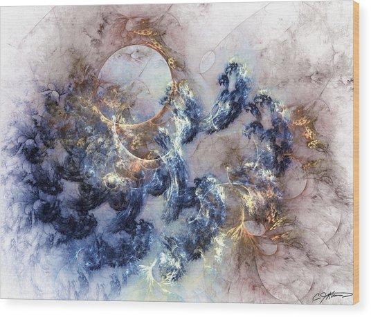 Ion Storm Wood Print