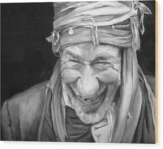 Iranian Man Wood Print