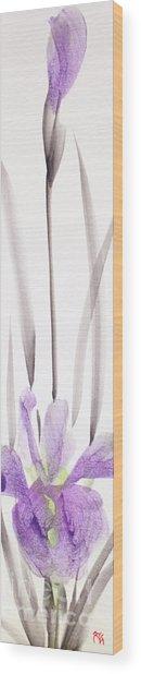 Iris 12050017-2fy Wood Print