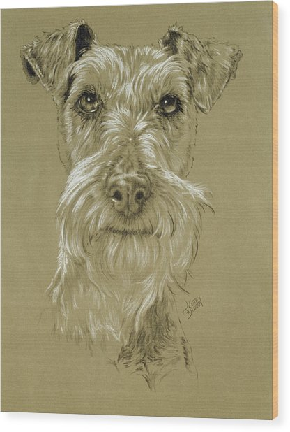 Irish Terrier Wood Print