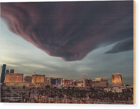 Iron Maiden Las Vegas Wood Print