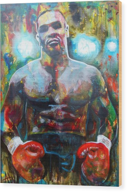 Iron Mike Wood Print