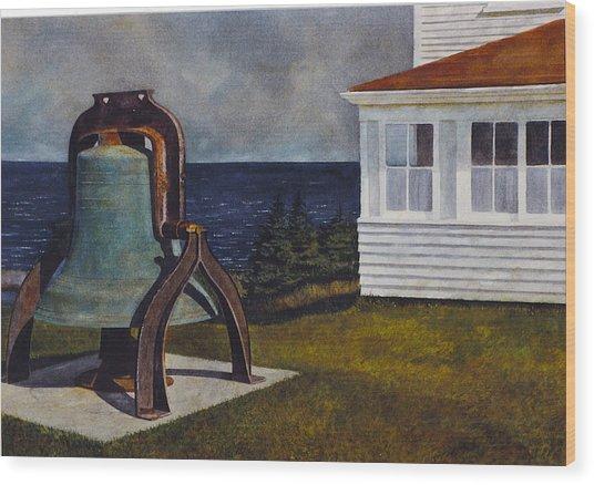 Island Bell Wood Print