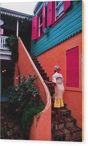Island Color. British Virgin Islands Wood Print