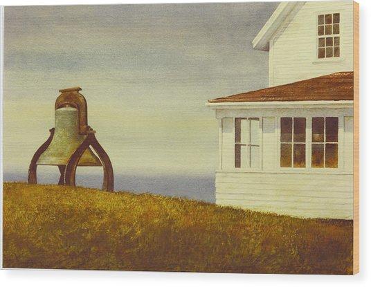 Island Museum Wood Print