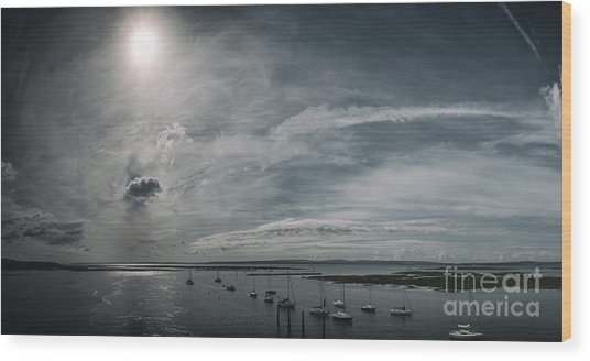Island Panorama Wood Print