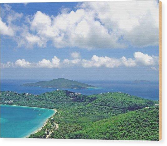 Island Paradise Wood Print