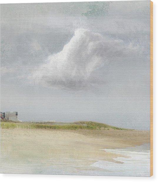 Island Sky Wood Print