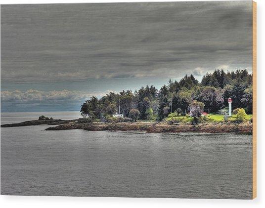 Island Summer Wood Print
