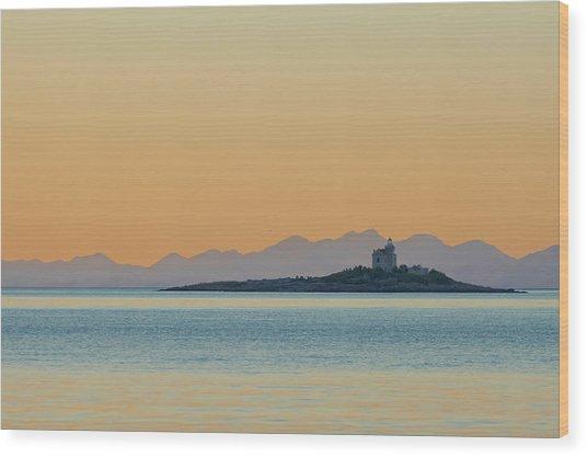 Islet Wood Print