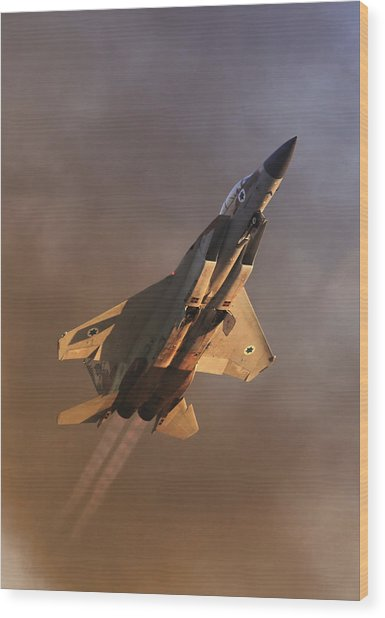 Israeli Air Force F-15i Wood Print