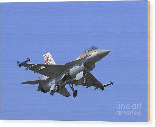 Israeli Air Force F-16c #307 Wood Print
