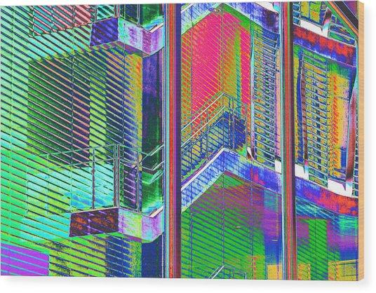 Istb1 Wood Print by Richard Henne