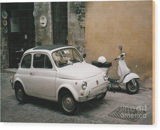 Italian Classic Commute  Wood Print