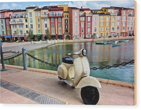 Italian Vista Series 8011y Wood Print