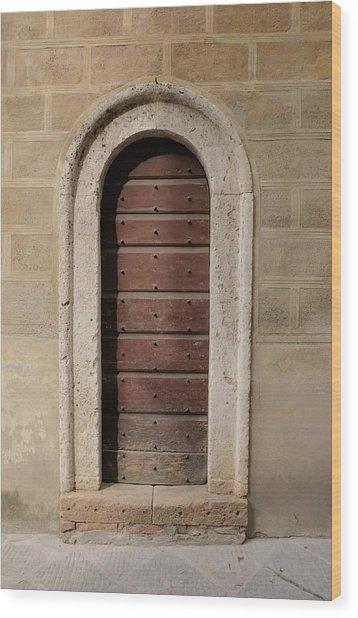 Italy - Door Ten Wood Print