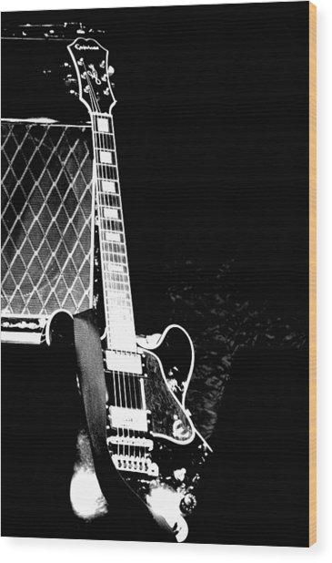 Its All Rock N Roll Wood Print
