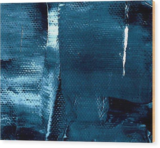 I've Got The Blues Wood Print