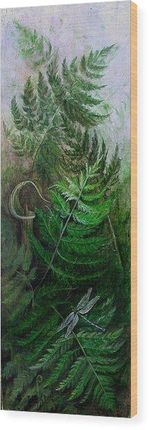 Jack In The Pulpit Wood Print by Sandy Clift