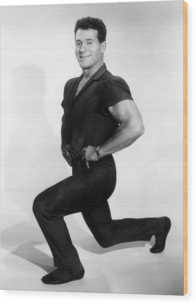 Jack Lalanne, 1960s Wood Print by Everett