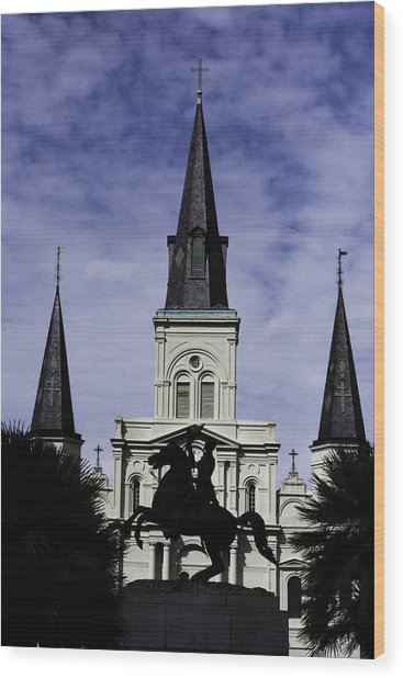 Jackson Square - Color Wood Print