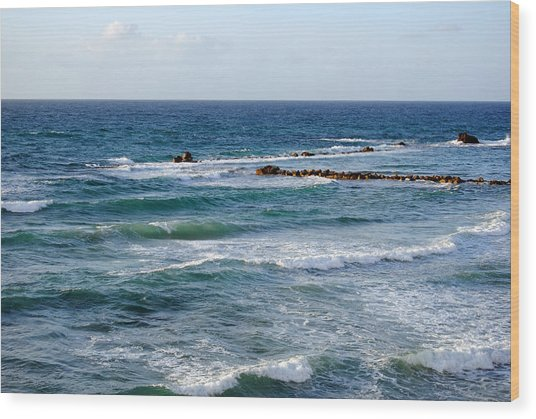 Jaffa Beach 10 Wood Print