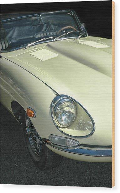 Jaguar Xke Roadster Wood Print