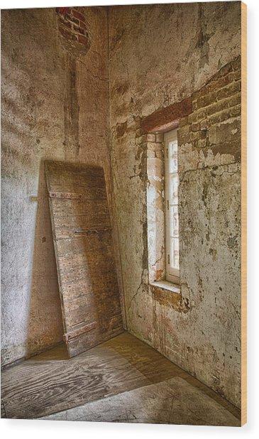 Jail House Wall Wood Print