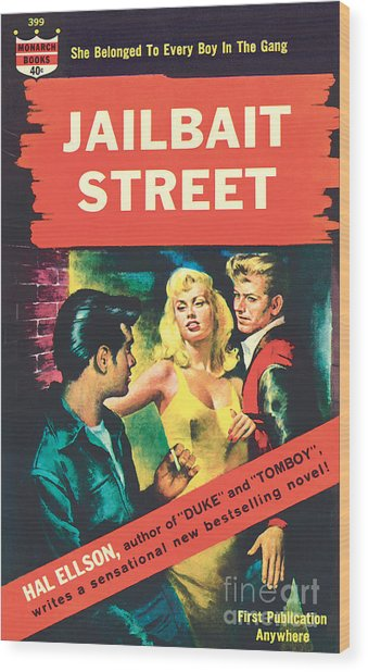 Jailbait Street Wood Print