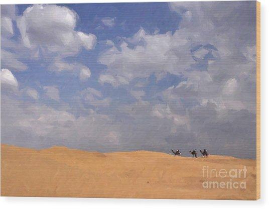 Jaisalmer Desert Festival-1 Wood Print