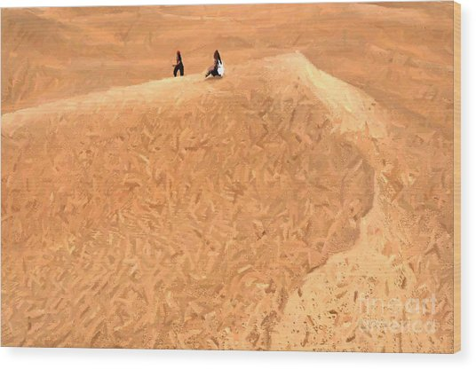 Jaisalmer Desert Festival-4 Wood Print