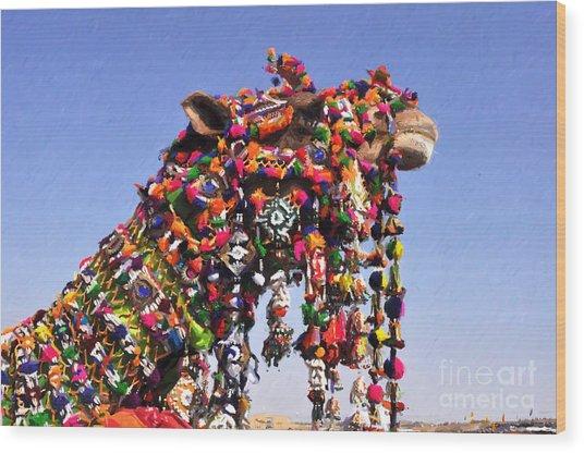 Jaisalmer Desert Festival-5 Wood Print