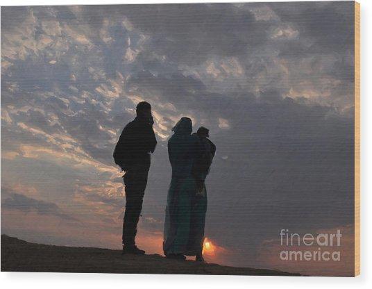 Jaisalmer Desert Festival-8 Wood Print