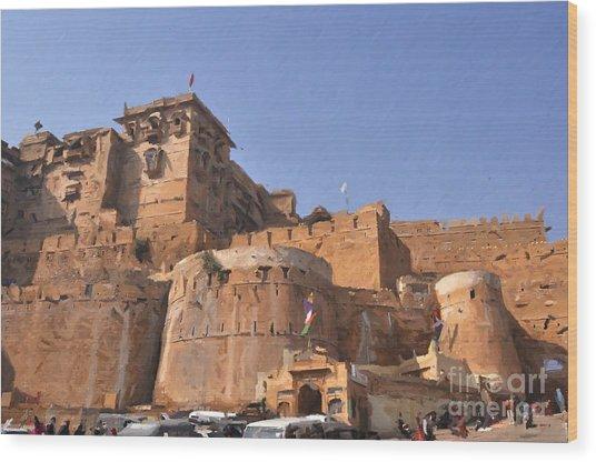 Jaisalmer Desert Festival-9 Wood Print