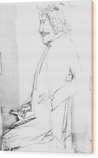James Whistler's Portrait Wood Print