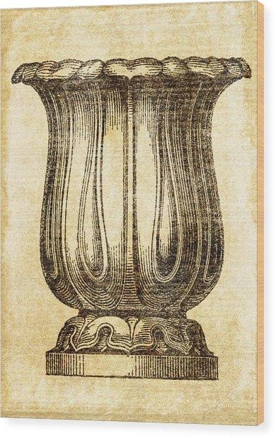 Jardiniere 02 Wood Print
