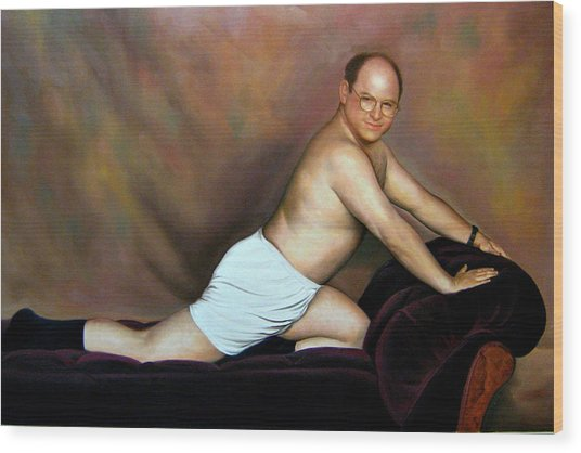 Jason Alexander As George Costanza Wood Print