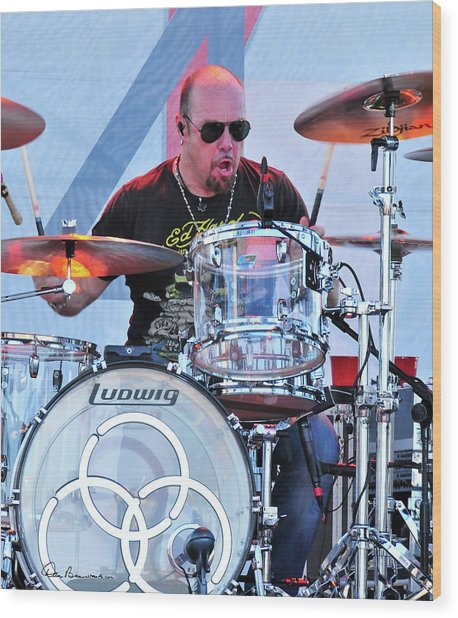 Jason Bonham Wood Print
