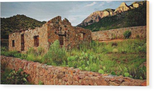 Jaun Tabo Cabin, Albuquerque, New Mexico Wood Print