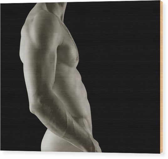 Javier Torso 3 Wood Print