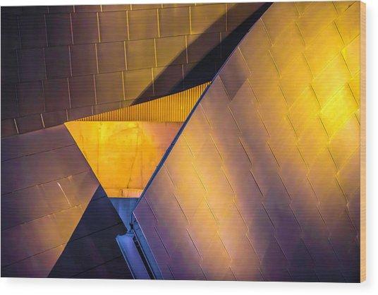 Jay Pritzker Pavilion V3 Dsc4621 Wood Print