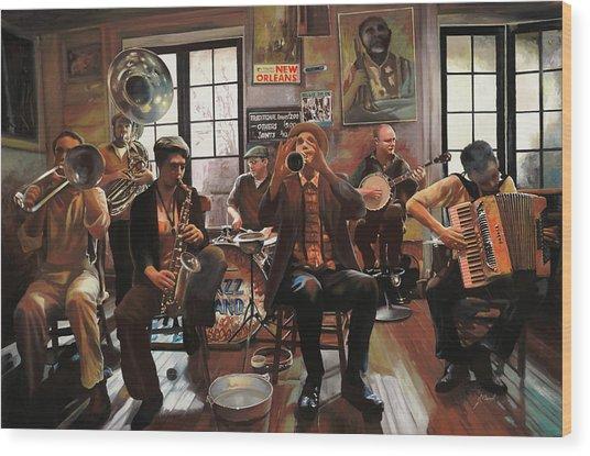 Jazz A 7 Wood Print