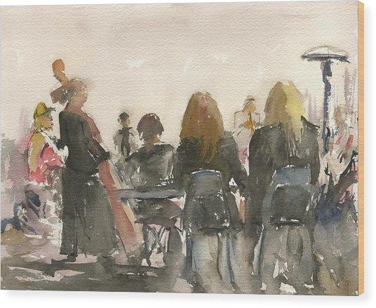 Jazz At Panama 66 Wood Print